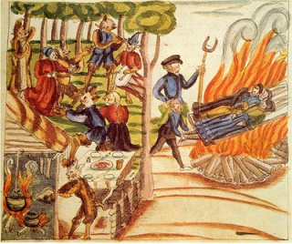 Danish demons, witches, and the bonfire.